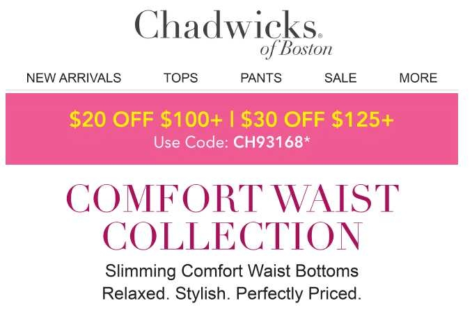 All designed with high-quality fabric and fit, and the good taste and style their customers have come to expect. The 50+ most popular Chadwicks coupons & Chadwicks promo codes for December Make use of Chadwicks coupon codes & sales to get extra savings when shop at funnebux.gq go to funnebux.gq