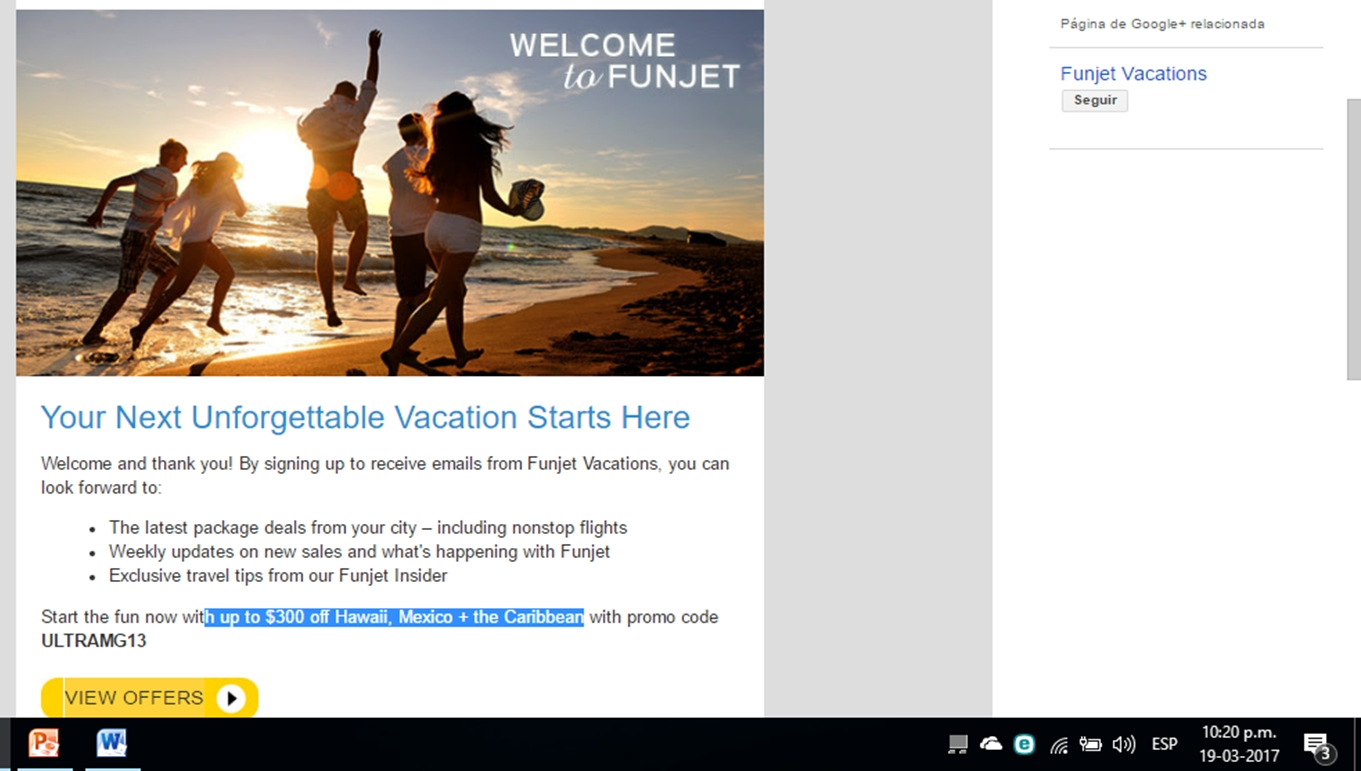 How to use a Funjet Vacations coupon If you book your vacation under one of the many promotions on the Funjet Vacations homepage, you will be saving 75% off some trips. Some destinations have $+ instant credit discounts so these promotions are definitely worth .