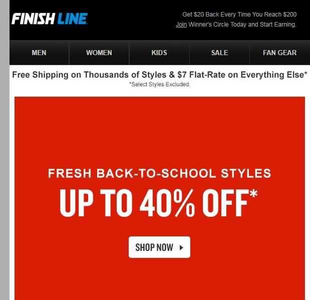picture relating to Finish Line Printable Coupons identify Conclusion line in just keep discount codes 2018 - Ea origin coupon