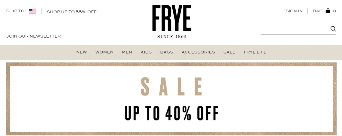 Get a $ Off Frye coupon code or promo code from ferricd.cf ferricd.cf has coupons & discount vouchers in December