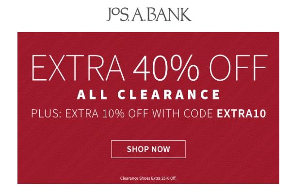 Jos a bank coupon codes