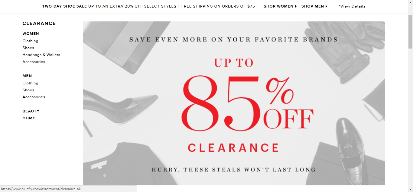Bluefly discount coupon