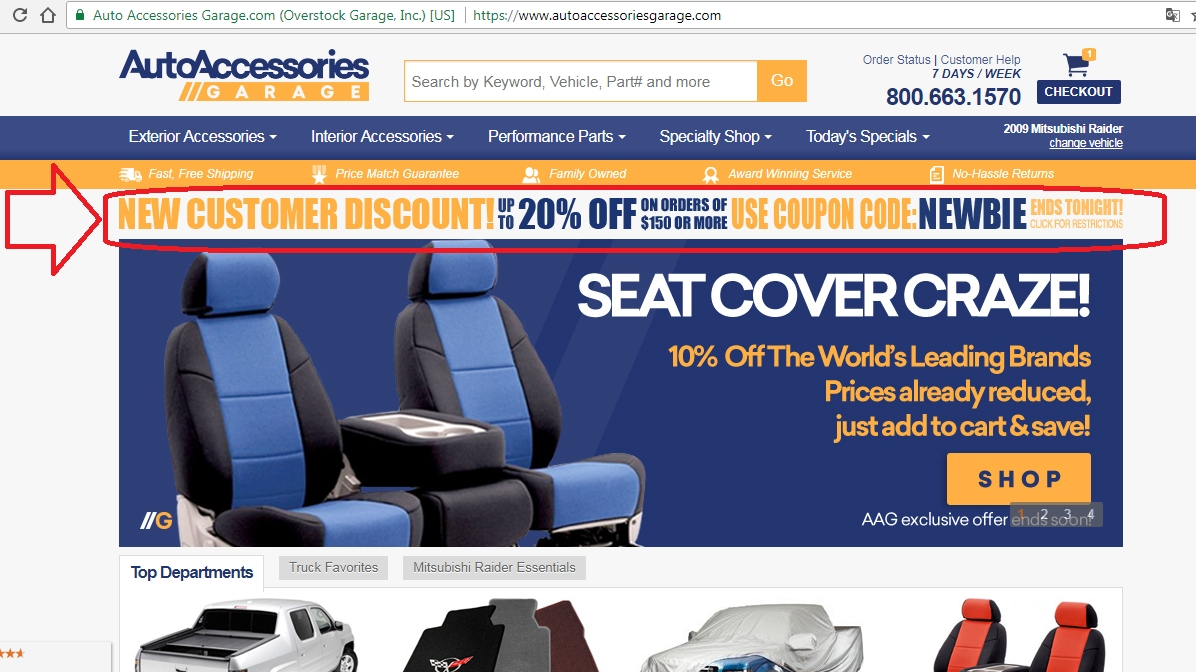 Up to 25% off a wide variety of tailored automotive seat covers. Ends Aug. 31, AutoAnything is a leading authorized dealer of high-quality car parts and accessories that can have your vehicle looking and running as good as new. Shop their collection of tailored seat covers at 25% savings in styles like suede and genuine neoprene.