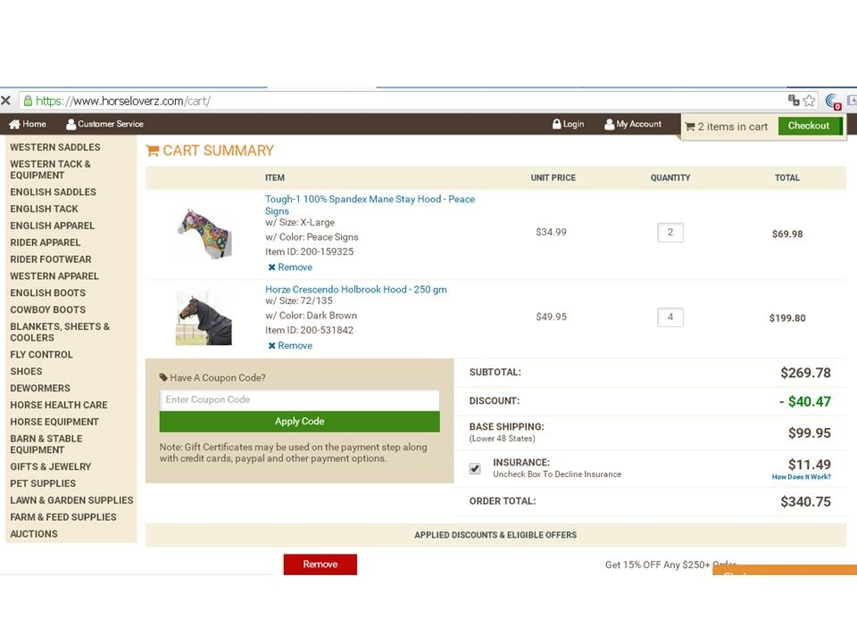 Horseloverz coupon code