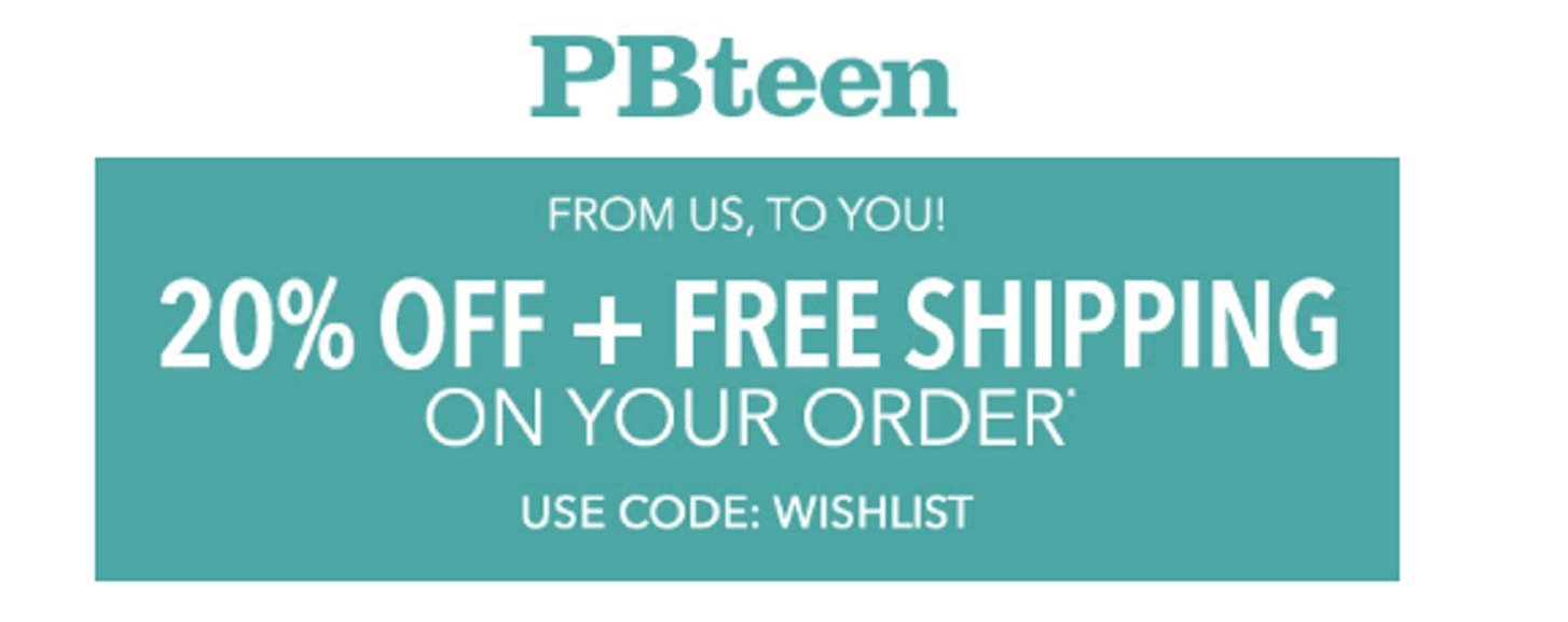 Pb teen coupon codes