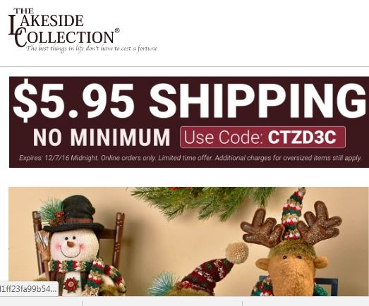 lakeside coupon december 2019