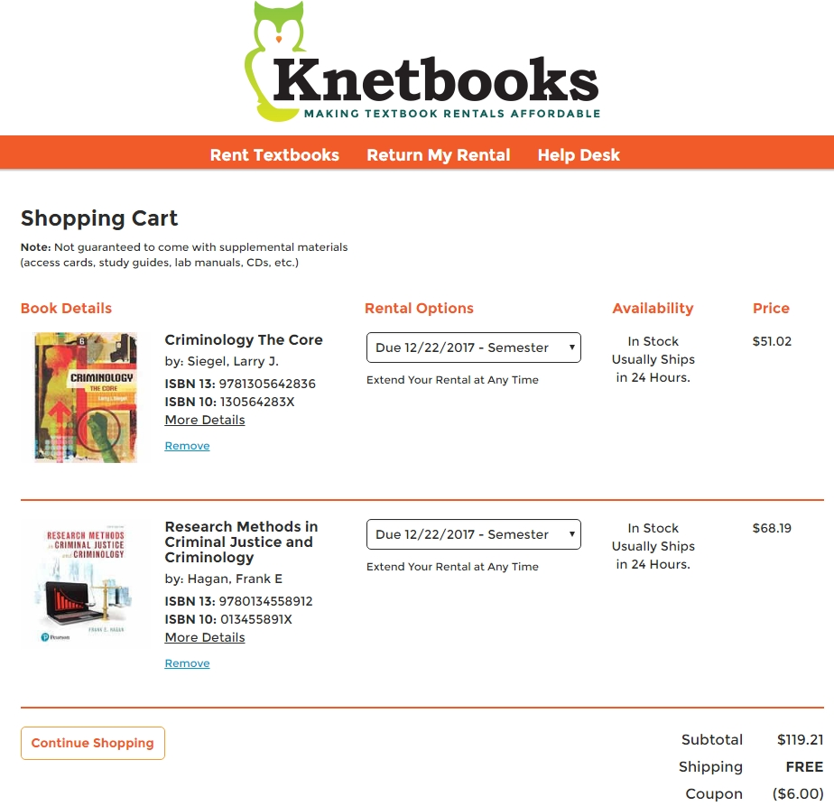 Coupons knetbooks