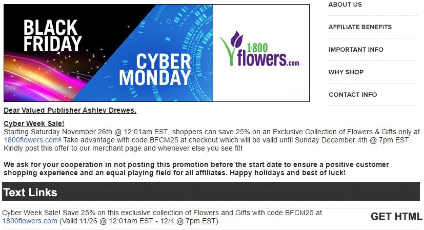 1800flowers.com coupon code