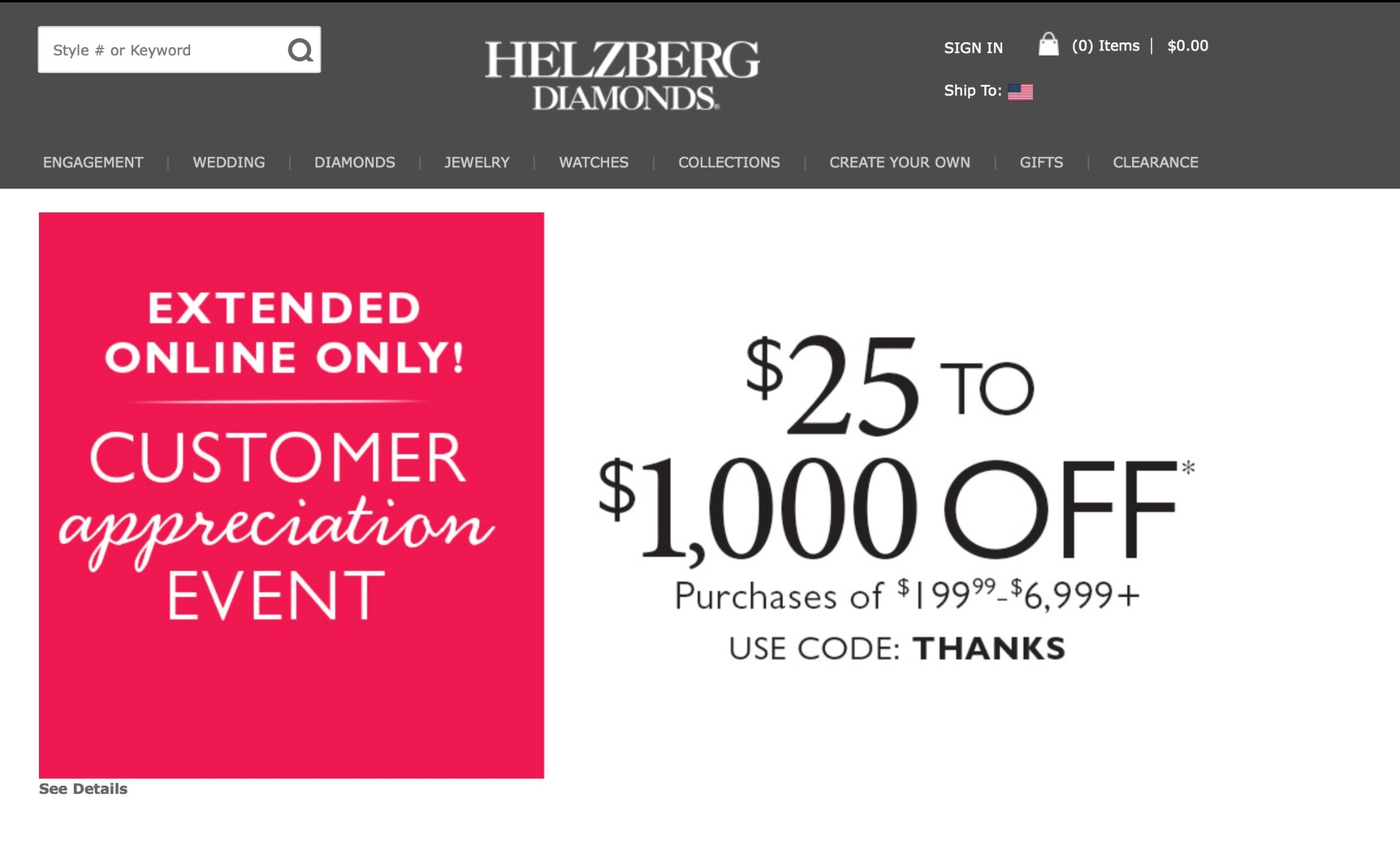 Helzberg coupon code