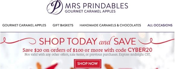 mrs.prindables apples coupon code