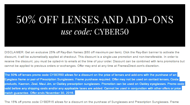 Save on lens coupon code