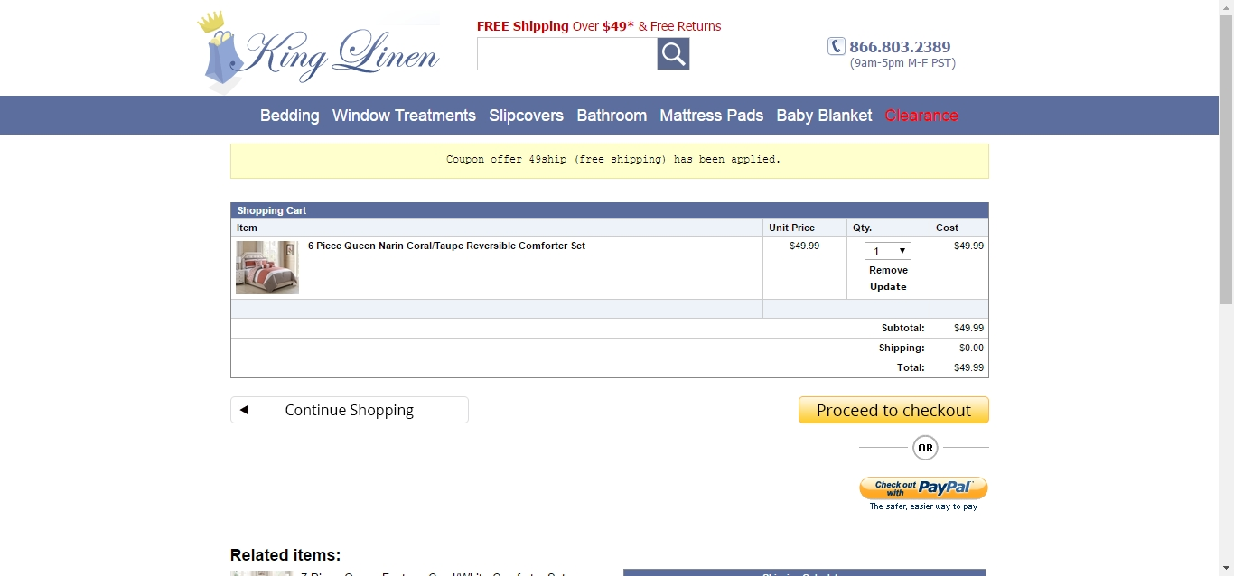e5da7f6e2b252b Kinglinen com coupon codes   Lastminute promo codes