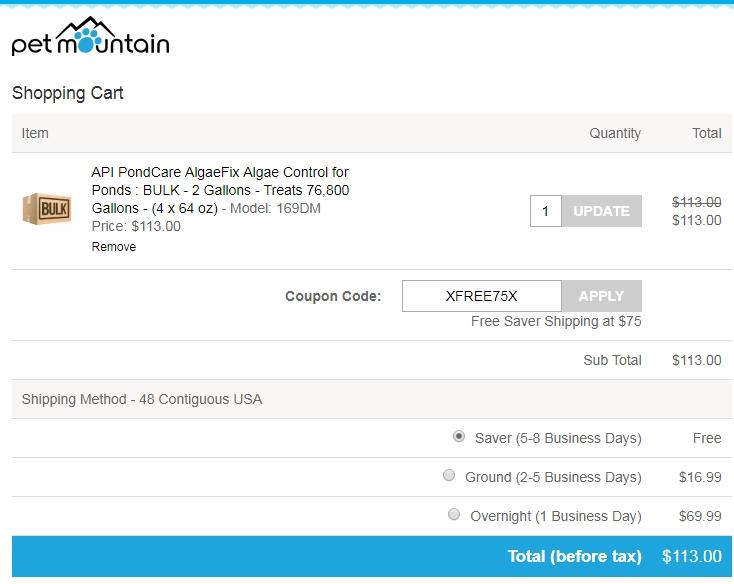 Pet mountain coupon code