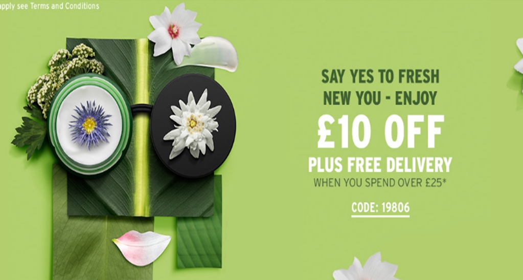 Discount coupons for the body shop uk