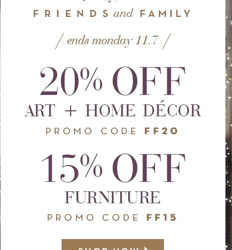 30 off z gallerie coupon code save 20 in dec w promo for Z furniture coupon code