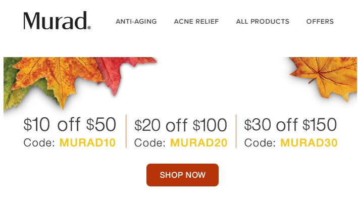 Murad coupon code
