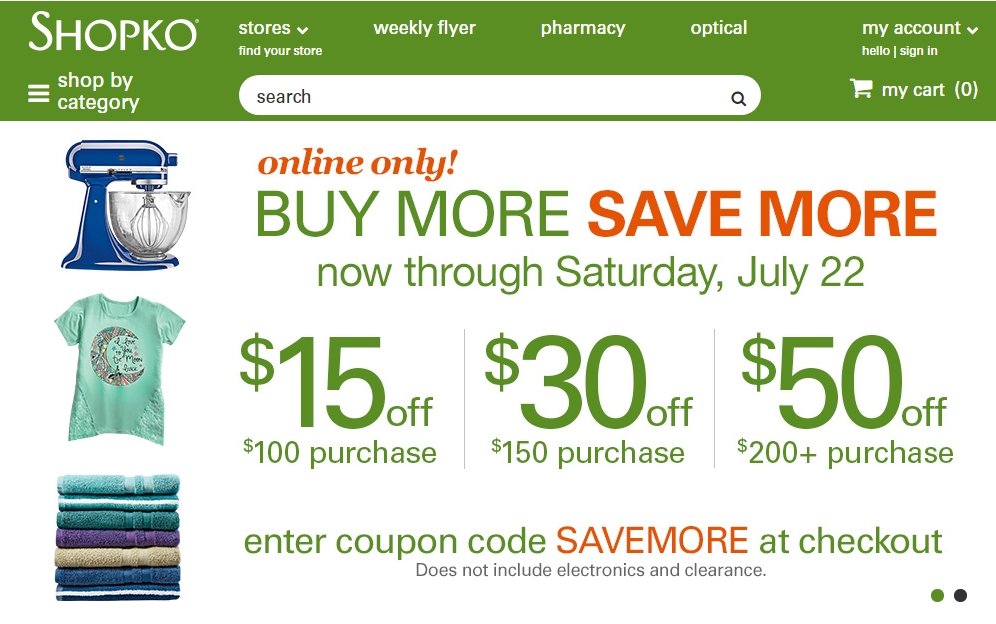 This is a picture of Crazy Shopko in Store Printable Coupons 2020