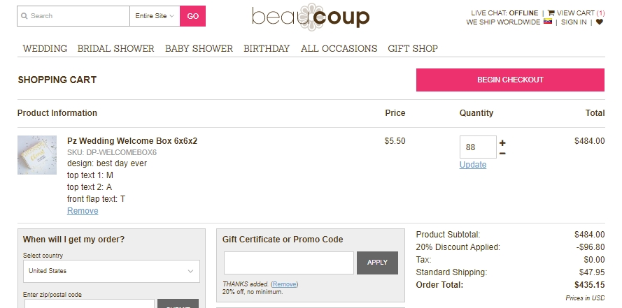 Beau-coup coupon code